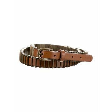 Leather Hip Belt w/ Tags Brown