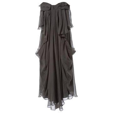 Vanessa Bruno \N Grey Silk Dresses