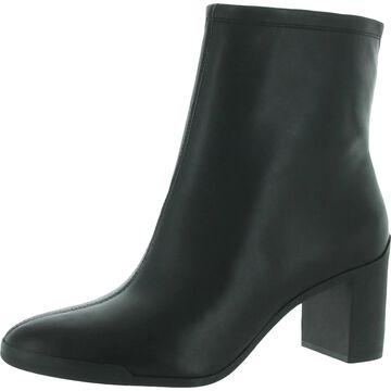 Corso Como Womens Ellie Dress Boots Leather Heels - Black Grove Smooth