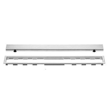 Schluter Systems Kerdi-Line Brushed Stainless Steel Shower Drain   KL1AR19EB120