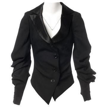 Emanuel Ungaro \N Black Wool Jackets
