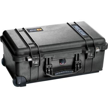 Pelican 1514 Carry On 1510 Case with Dividers, Black