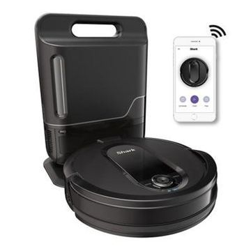 Shark IQ Robot Self-Empty Vacuum R101AE with Self-Empty Base, Wi-Fi, Home Mapping