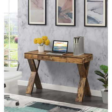 Convenience Concepts Newport 1 Drawer Desk, Multiple Finishes