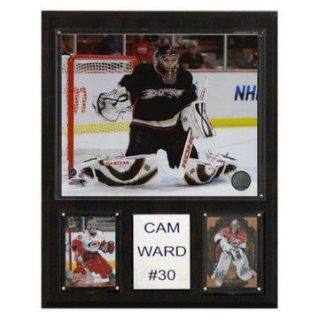 C&I Collectables NHL 12x15 Cam Ward Carolina Hurricanes Player Plaque