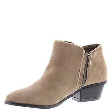 Masseys Womens Addie Almond Toe Ankle Fashion Boots