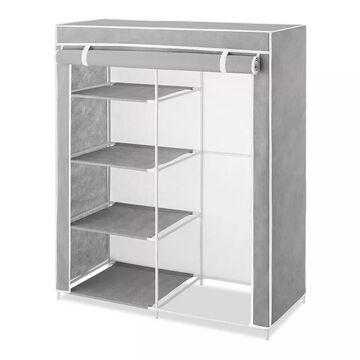 Whitmor Compact Clothing Organizer, Grey