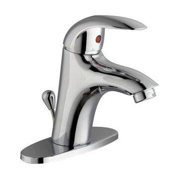 Design House 548339 Lola Single Handle Bathroom Faucet, Polished Chrome