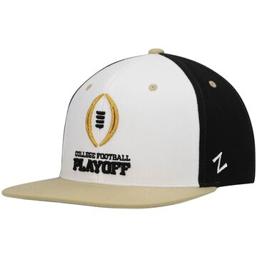 Zephyr College Football Playoff White Classic Snapback Hat