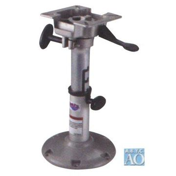 Attwood 2385405 LakeSport 238 Series Seat Pedestal with Seat Mount - Manually Adjustable, 12.5