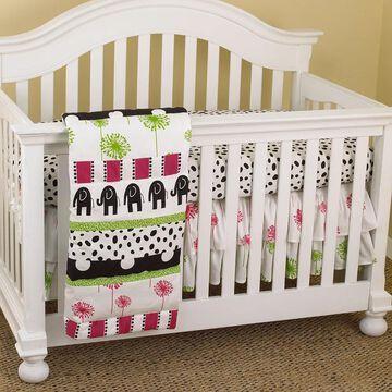 Cotton Tale Hottsie Dottsie 7-piece Crib Bedding Set