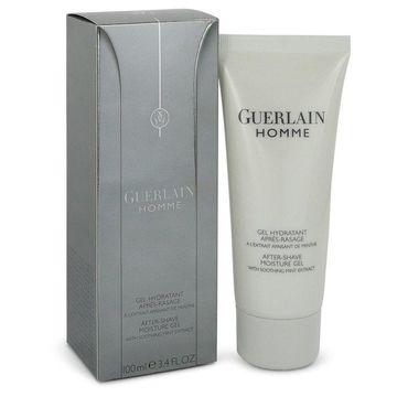 Guerlain Homme by Guerlain After Shave Gel 3.4 oz for Men (Package of 2)