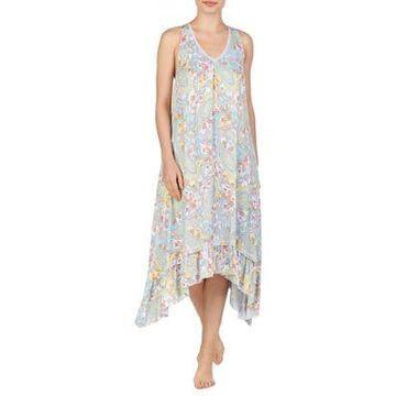 Paisley A-Line Midi Pajama Dress