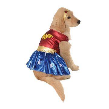 Buyseasons Wonder Woman Deluxe Pet Costume