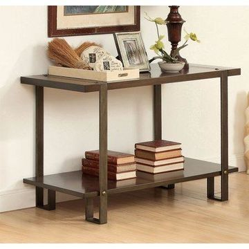 Furniture of America Ganlo Rustic Sofa Table