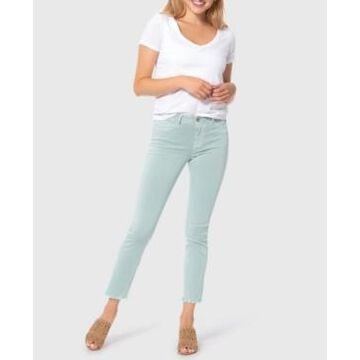 Lola Jeans High Rise Straight Crop