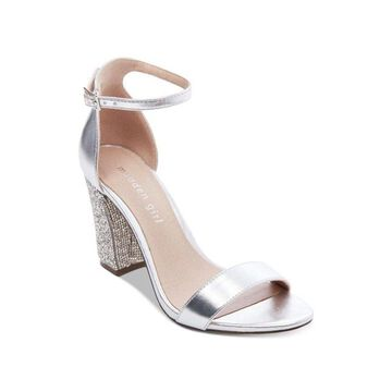 Madden Girl Womens Bangg Fabric Open Toe Special Occasion