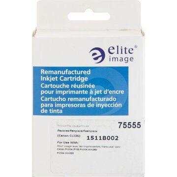 Elite Image, ELI75555, 75555 Remanufactured Canon CLI36 Ink Cartridge, 1 Each