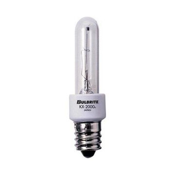 Bulbrite 473060 KX60CL-E12 60-Watt Dimmable KX-2000 Krypton-Xenon