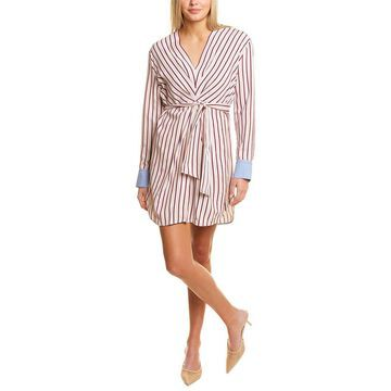 Sandro Paige Striped Mini Dress