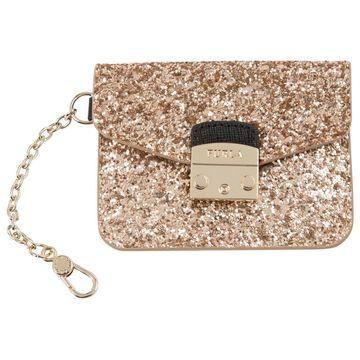 Furla Gold Cloth Purses, wallets & cases