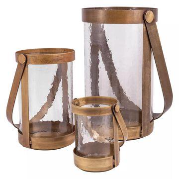 Pomeroy Tonal 3-piece Pillar Candle Holder Set