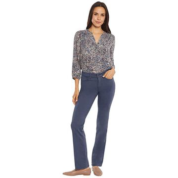 NYDJ Marilyn Straight Jeans in Oxford Navy