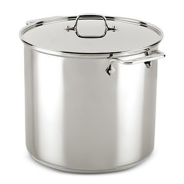 Stainless Steel 16-Qt. Stockpot with Lid