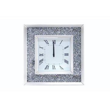 Acme Furniture Noralie Wall Clock, Mirrored