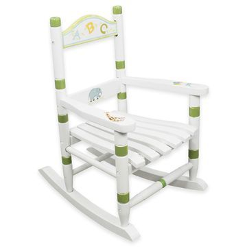 Teamson Fantasy Fields Alphabet Kids Rocking Chair