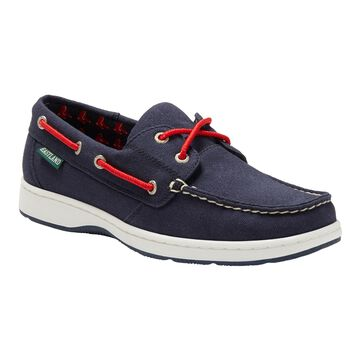 Eastland Boston Red Sox Women's Navy Solstice Boat Shoes