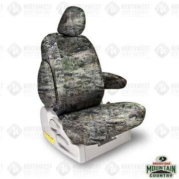 NorthWest Camo Seat Covers, 1st-Row Seat Covers in Mossy Oak Mountain Country Range, FF0