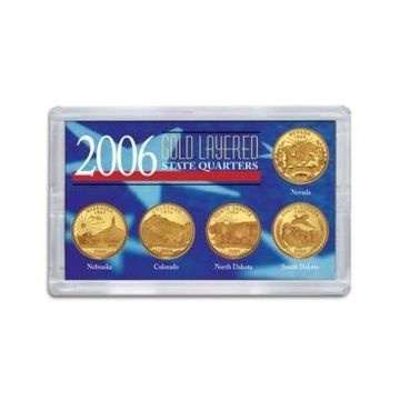 American Coin Treasures 2006 Gold-Layered State Quarters