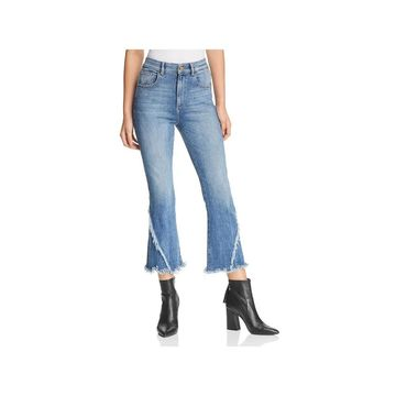 DL1961 Womens Wallace Jeans High Rise Cropped - 26