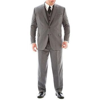 Stafford Executive Super 100 Wool Suit Jacket-Big & Tall
