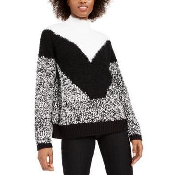 Bar Iii Textured Turtleneck Sweater, Created For Macy's