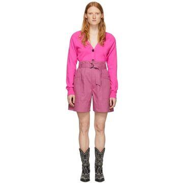 Isabel Marant Etoile Pink Zayna Shorts