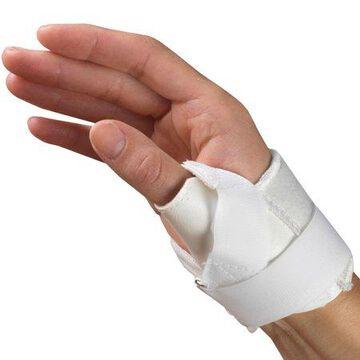 OTC Thumb Stabilizer, Right Hand, White, Large
