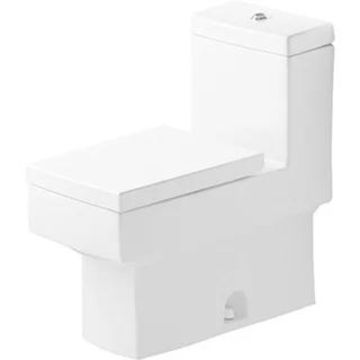 Duravit One-piece Toilet Vero White with Mech Siphon Jet Elongated White