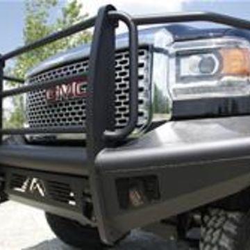Fab Fours GM14Q31601 Front Elite Ranch Bumper