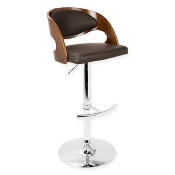 LumiSource Pino Bar Stool in Brown