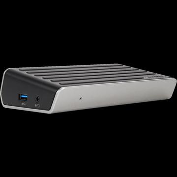 Targus - 4K Universal Docking Station USB 3.0, Single 4K or Dual HD Video
