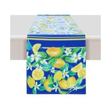 Laural Home Lovely Lemons 13x90 Table Runner