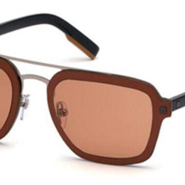 Ermenegildo Zegna EZ0120 66S Men's Sunglasses Red Size 64