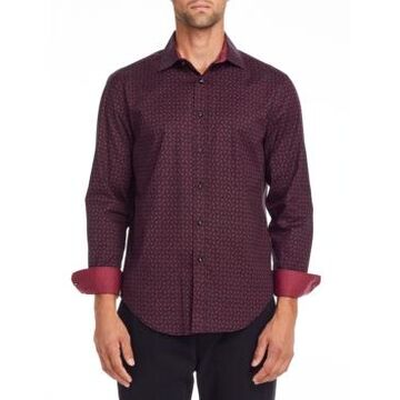 Tallia Men's Geo Shirt