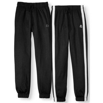 RBX Tricot Joggers with Contrast Taping, 2-Pack (Little Boys & Big Boys)