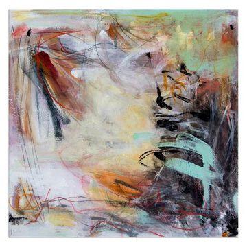 Ready2HangArt 'Glow' Abstract Canvas Wall Art