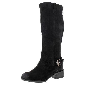 Naughty Monkey Womens Ziba Knee-High Boots Suede Tall