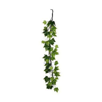 Vickerman Green Plantanus Leaf Garland -
