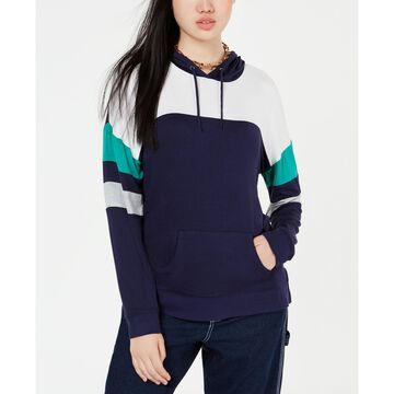 Juniors' Colorblocked Pullover Hoodie